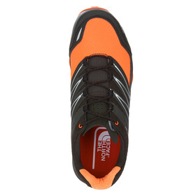 The North Face M's Ultra MT Black Ink Green/Power Orange